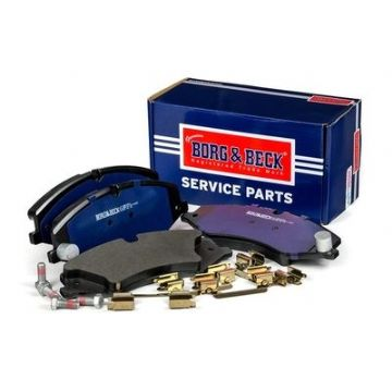 LR051626 Borg & Beck BBP2306 Front Brake Pad Set with fitting kit